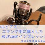 20ルビアス エギング用に購入したFC LT2500Sのインプレ 【ゴメクサスカスタムあり】