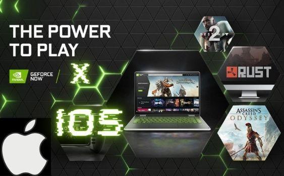 GeForce NOWがIOS対応開始!?Fortnite・APEXが遊べる!?